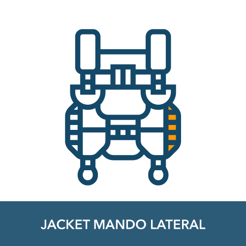 jacket buceo mando lateral