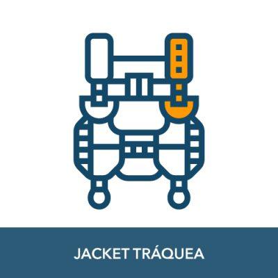 jacket buceo traquea
