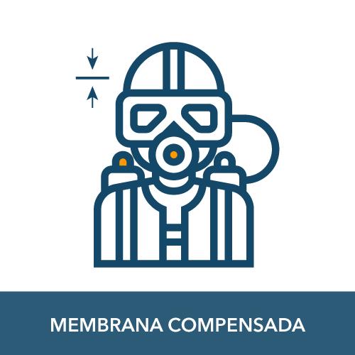 regulador de membrana compensada